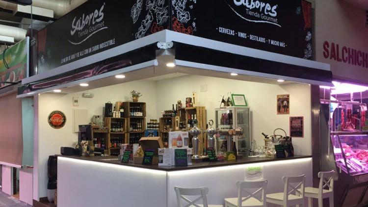 Sabores Tienda Gourmet Mercado Maravillas, Puesto 339-340 Calle Bravo Murillo, 122 28020 MadridTienda especializada en productos Gourmet, alimentos sin gluten caprichos para el paladar. Cervezas artesanas, vinos nacionales e importados, cavas…