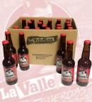 Botellas y caja vallekana ipa - Cervezas La Vallekana, la cerveza artesana de Vallecas