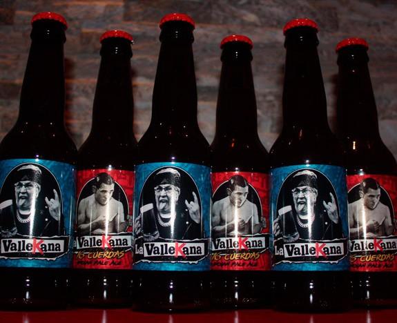 botellas Cerveza la Vallekana - Cervezas La Vallekana, la cerveza artesana de Vallecas